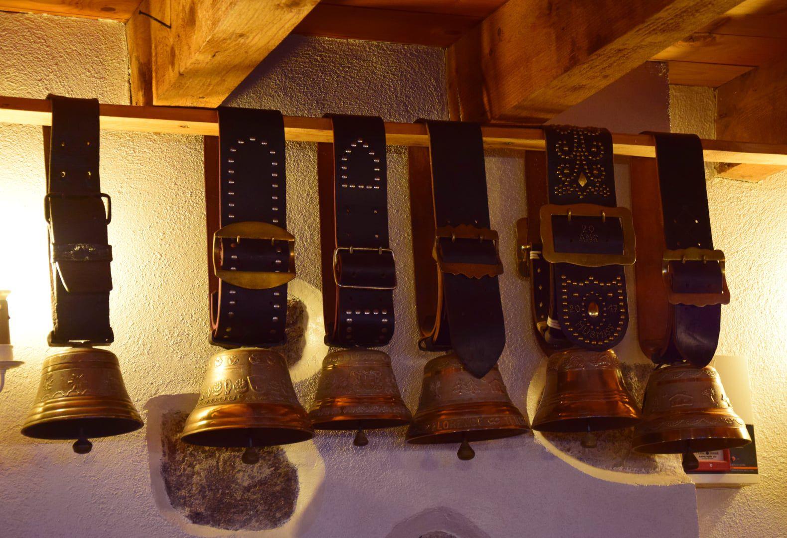 Les trophées de la ferme-auberge du Musmiss
