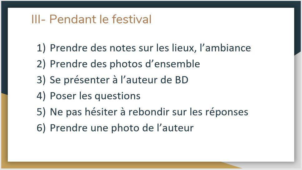 Annulation Festival BD à Chinon, comment les reporters s'y préparent(aient) ?