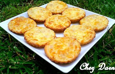 mini quiches au thon ميني كيش بالطون