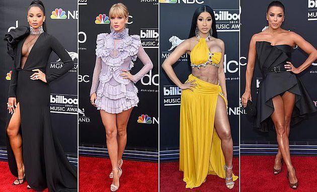 Billboard Music Awards 2019: Taylor Swift remporte la bataille des divas la mieux vêtue alors qu'elle affronte Cardi B et Ciara