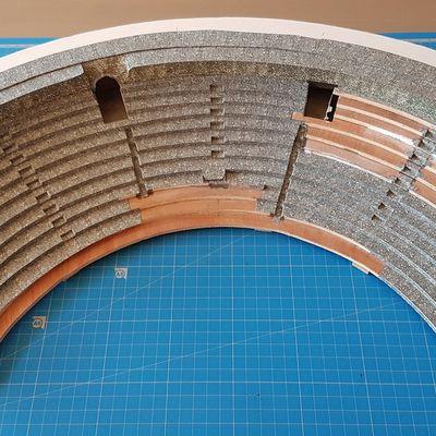 Théâtre antique - Habillage gradins