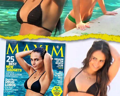 Jordana Brewster en bikini pour Maxim !
