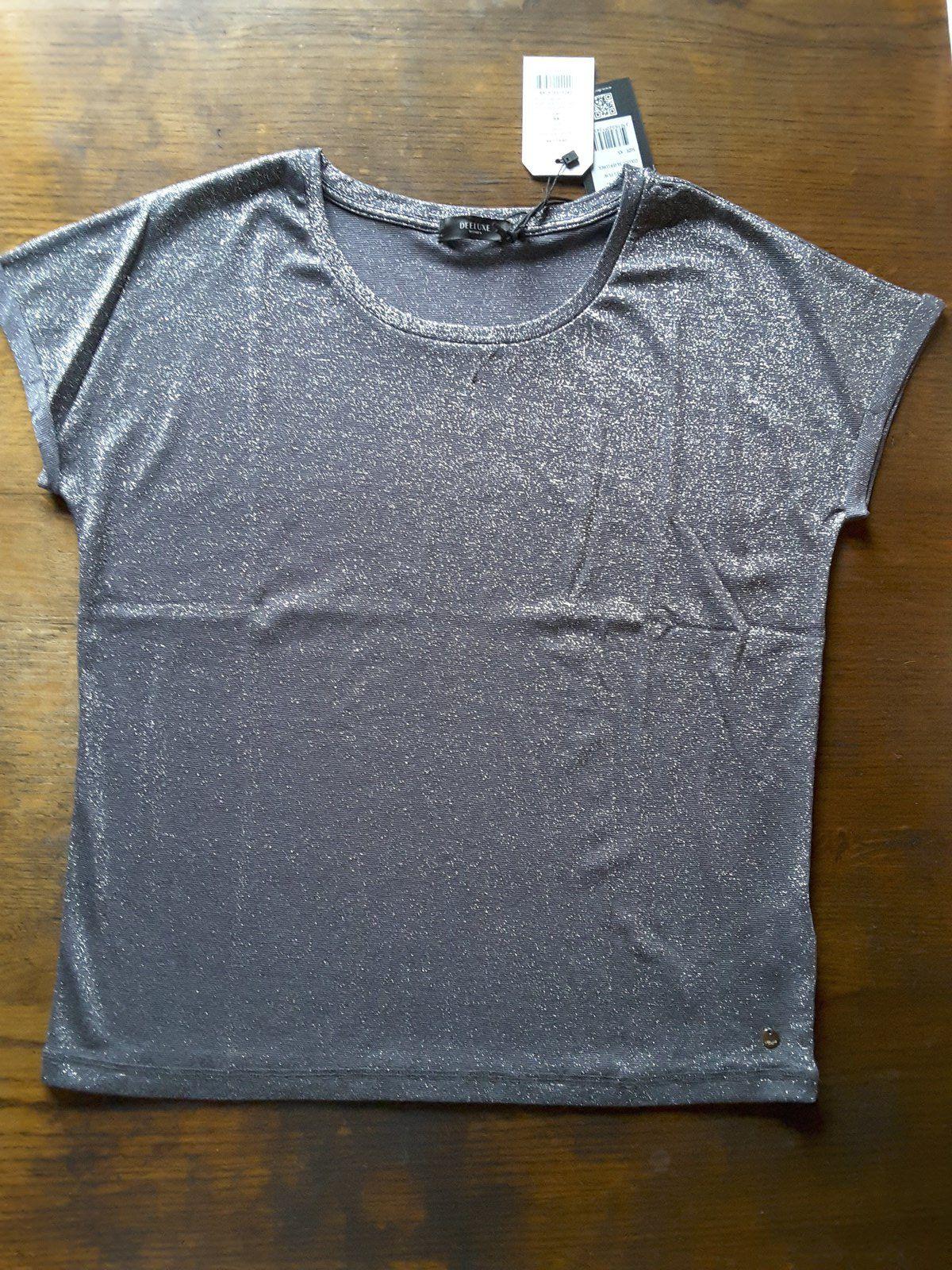 haut Dhines Tshirt Lurex silver - Deeluxe lookiero missbonsplansdunet box vêtements styliste personal shopper