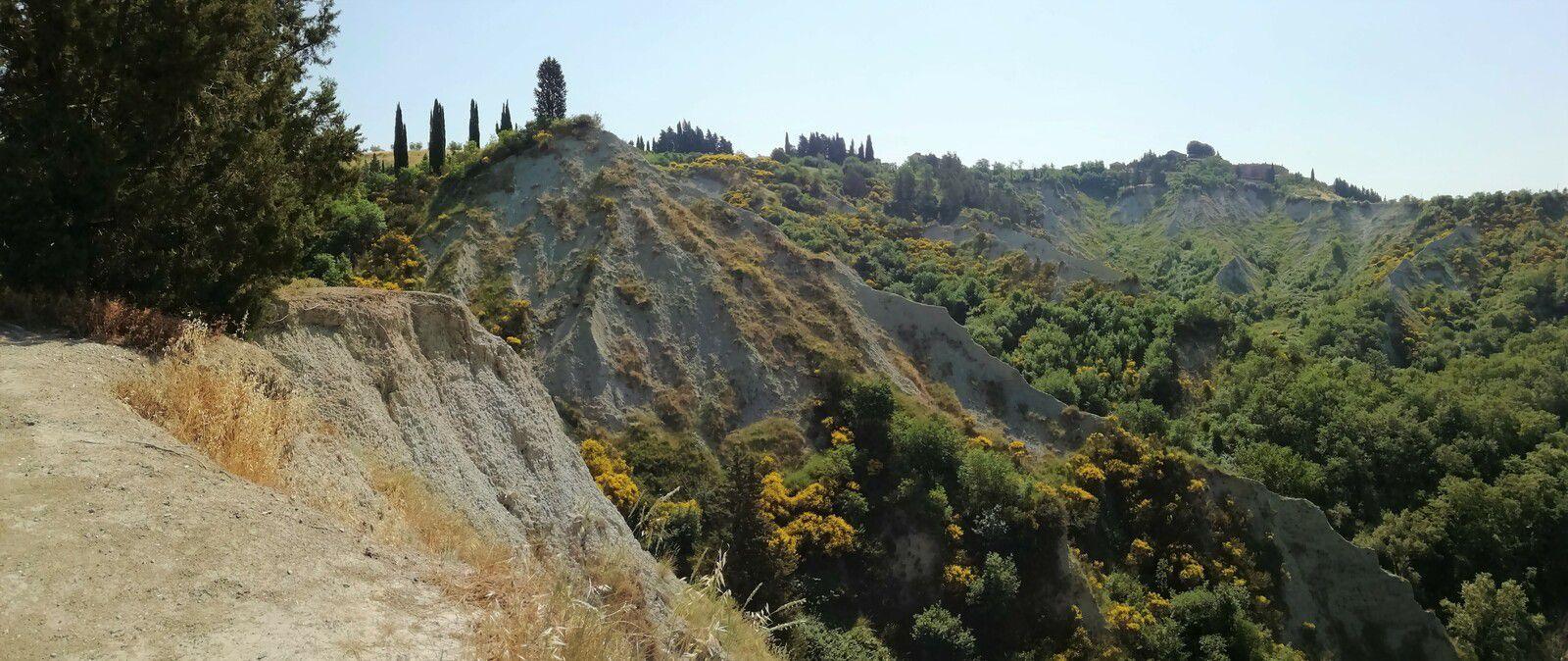 ITALIE - Toscane - Les Crêtes Siennoises et Le Val d'Orcia (5)