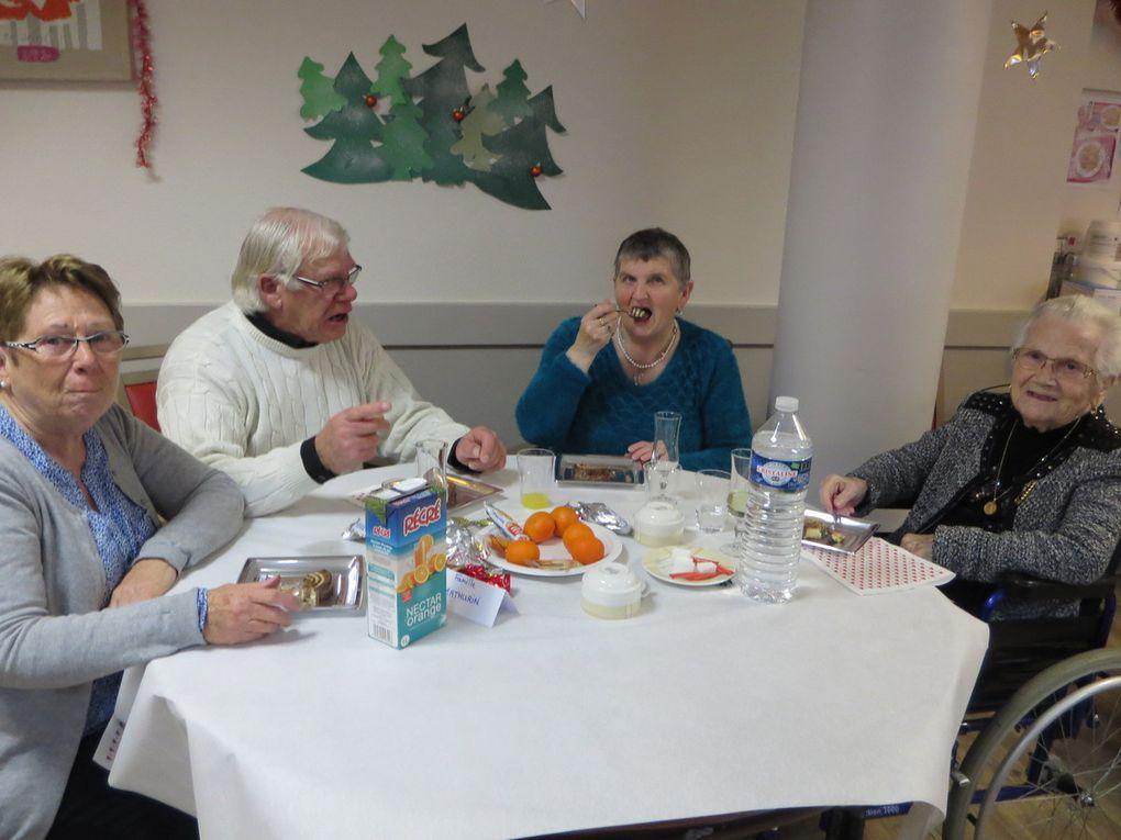 Le goûter de Noël avec les familles (6 décembre)