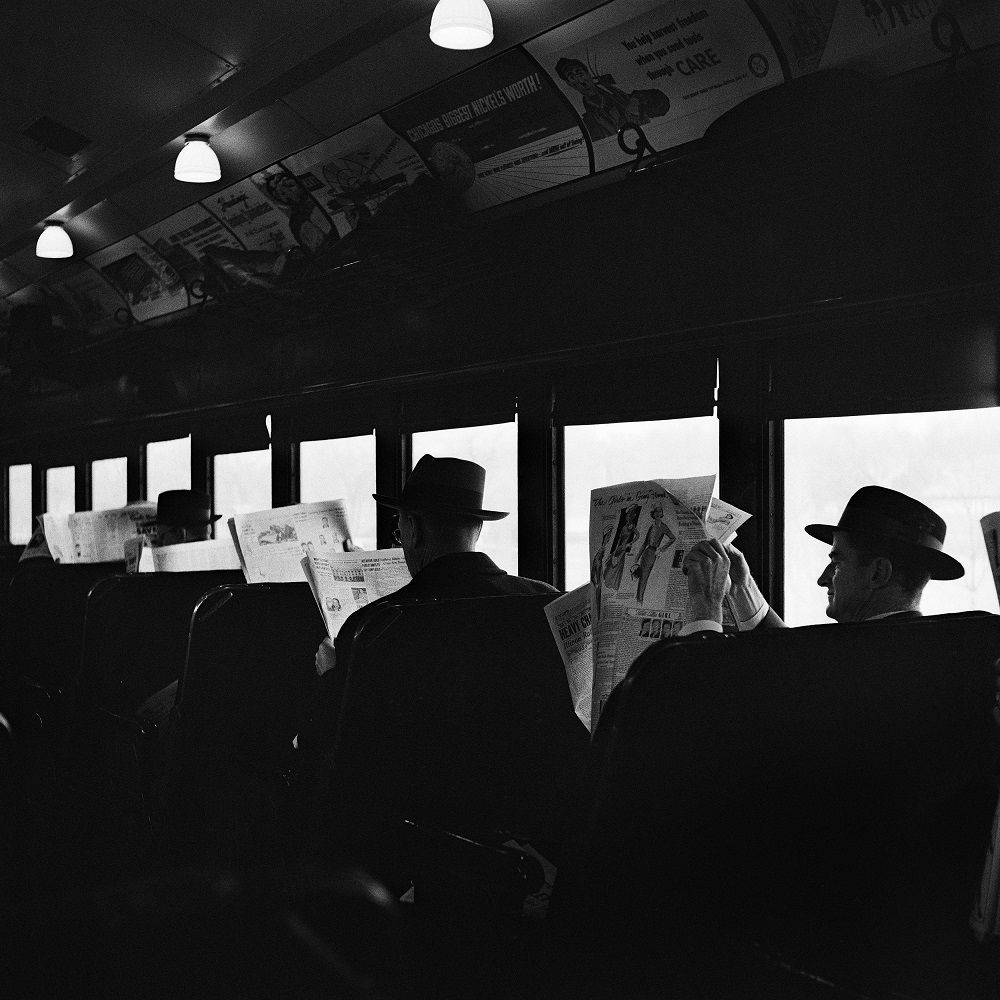 Vivian Maier, Chicago, 1957, tirage argentique, 2012 © Estate of Vivian Maier, Courtesy of Maloof Collection and Howard Greenberg Gallery, NY