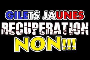 GILETS JAUNES - La GRANDE RECUPERATION