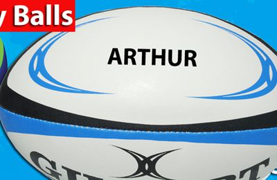 Printed Rugby Balls Graphics – How are the text applied to the balls