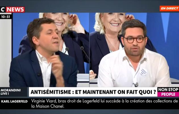 Antisémitisme - Le président des étudiants juifs de France porte en direct de graves accusations contre le Rassemblement National