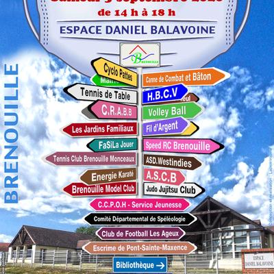 Forum des associations à Brenouille