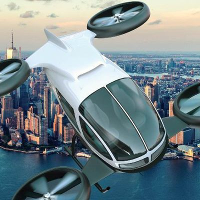 Uber Plans to Make Money Off Urban Air Mobility