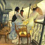 James Tissot, l'Ambigu Moderne, Musée d'Orsay
