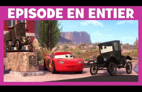 MARTIN REMONTE LE TEMPS CARS TOON
