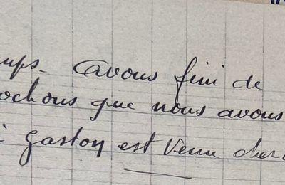 Mercredi 17 janvier 1951 - le dernier grain