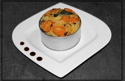 Clafoutis Carottes-Courgettes aux Épices