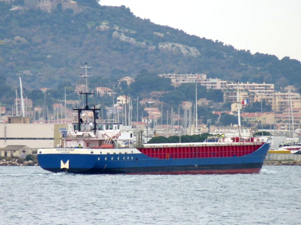 TRUFFALDINO , arrivant à Toulon /Brégaillon le 03 février 2015
