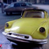 CITROEN DS 19 JAUNE NOREV 1/43 - car-collector.net