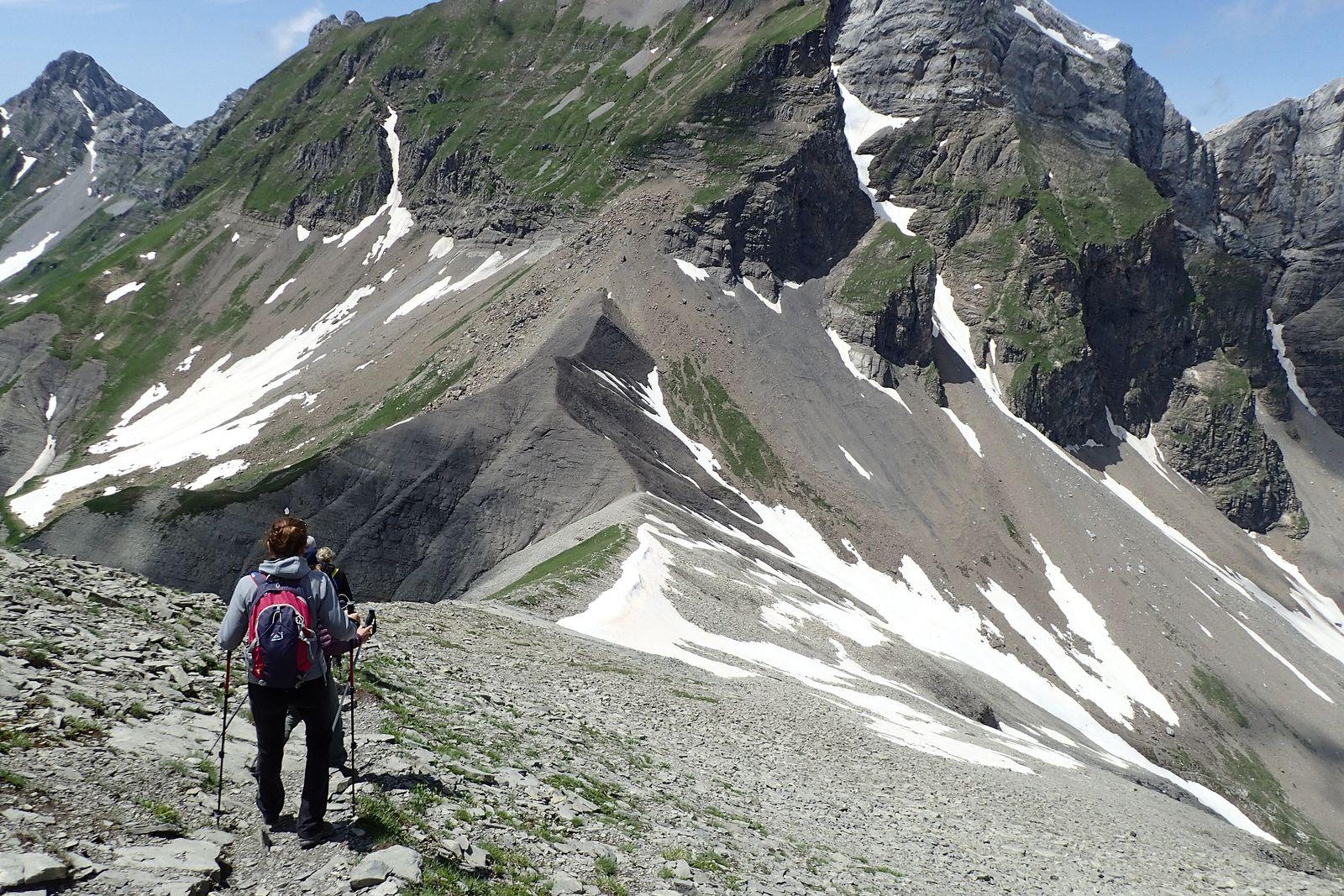 Les Quatre Têtes : Tour et sommet (version 2)
