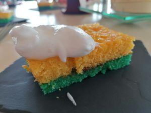 Gâteau trompe l'oeil...