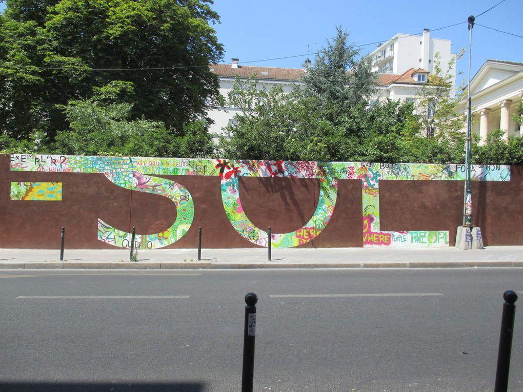 """Rero, """"Hors-Sol"""" au pavillon Carré de Baudouin"""