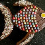 Gâteau poisson pour ma Mini Chocolatine
