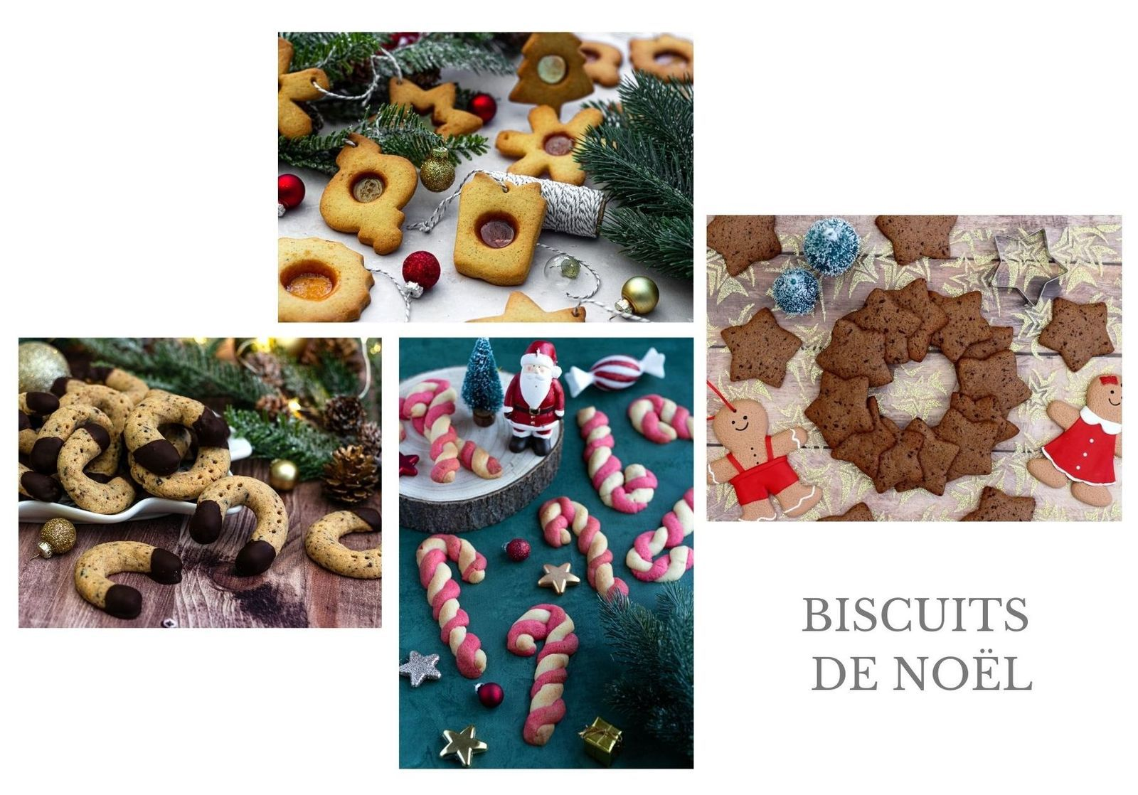 recettes biscuits noël