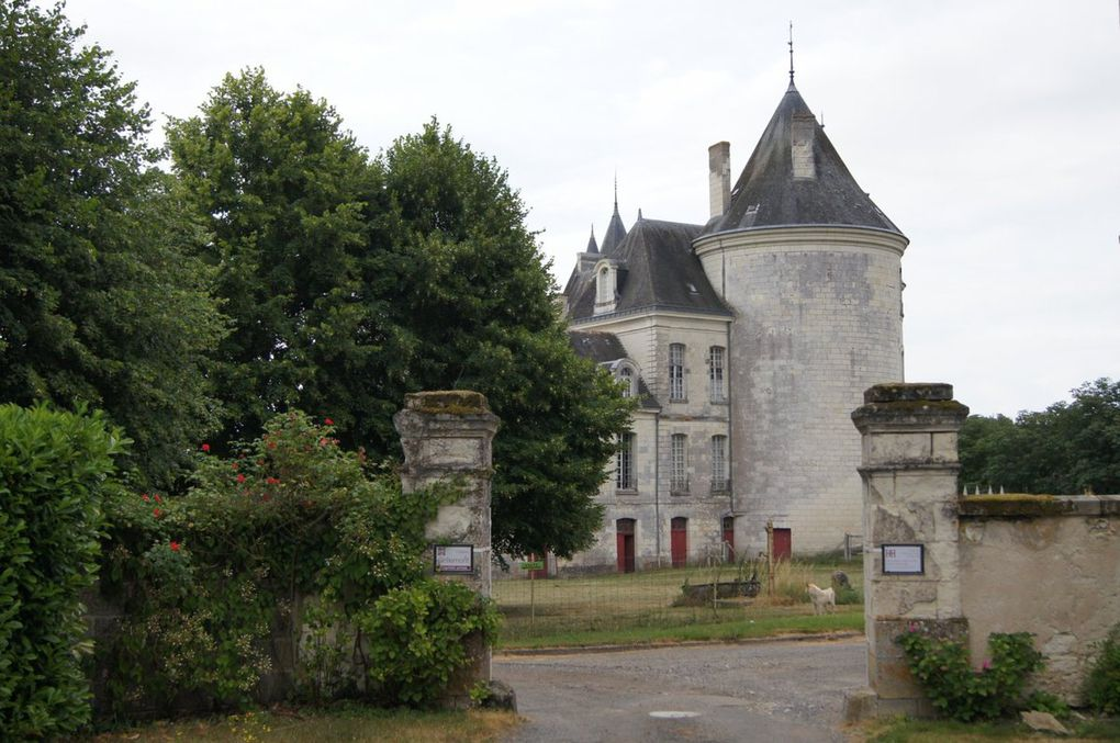 Domaine agricole et château de GRILLEMONT à La Chapelle-Blanche-Saint-Martin (Indre-et-Loire)
