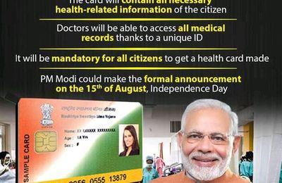 Le gouvernement indien lancera une carte de santé numérique obligatoire sur le concept Bill Gates