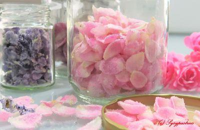 Fleurs cristallisées