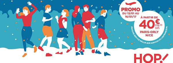 HOP! Air France propose des vols à seulement 39 € pour le Carnaval de Nice !