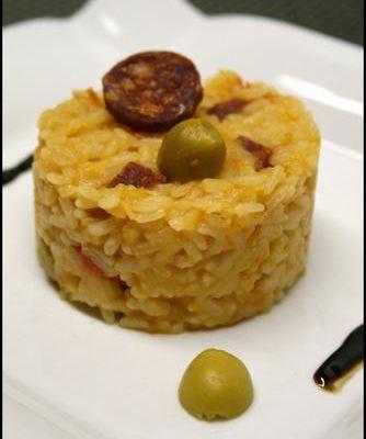 Mon risotto à l'espagnol