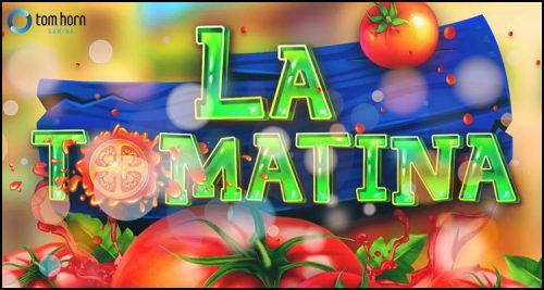 machine à sous mobile La Tomatina développeur Tom Horn Gaming
