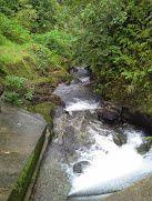 Le barrage électrique de la vainifao.