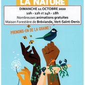 Fête de la nature à Bréviande - dimanche 11 octobre 2020
