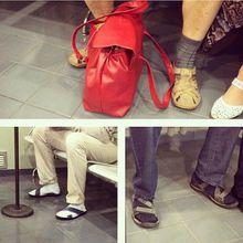 La mariage heureux : Sandales & Chaussettes