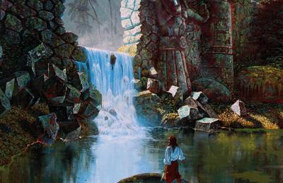 """""""Les Royaumes en Ruines"""" – Une table de rencontre aléatoire au-delà du Moyen-Orient de RIFTS façon """"Al-Qadim"""" (d9)"""