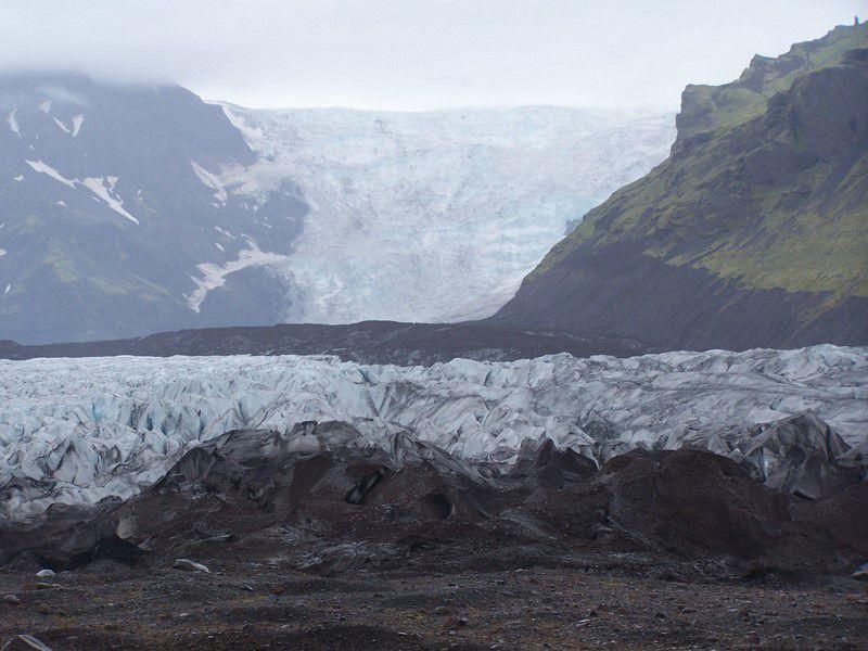 Kviarjökull et le lac glacière de Fjallsjökull