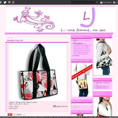 LJ, une femme un sac