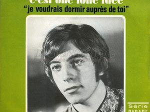 Michel Didier, un chanteur français des années 1960 qui sut adapter les Bee gees qui débutait en 1967 et s'arrêta l'année suivante