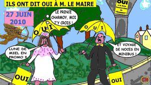 CHARMOY-CITY : LES JOIES DU MARIAGE - du 23 janvier 2017 (J+2959 après le vote négatif fondateur)
