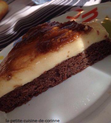 Le gâteau impossible au caramel