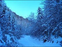 Les crêtes de Barlagne en ski de randonnée.