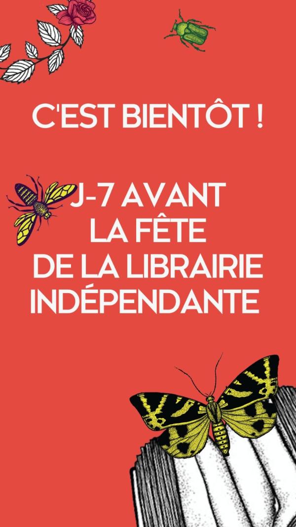 Fête de la librairie indépendante 24 avril 2021