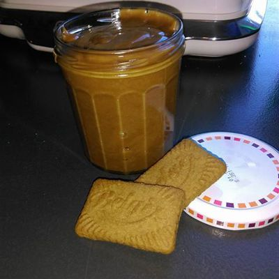 pate a tartiner au speculoos au THERMOMIX