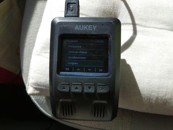 test caméra embarquée dashcam 4K Aukey DR02 J @ Tests et Bons Plans