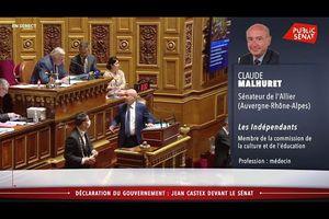 """Gardons nous de confondre plan de relance et financement des déficits incontrôlés"""" (Claude Malhuret)"""