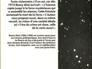 """J.-H. Rosny aîné """"La Mort de la Terre"""" (Présence du futur - 1999)"""