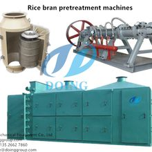 Rice bran oil extraction process detailed introduction