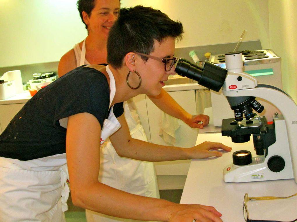 Faire ses cosmétiques bio dans un vrai laboratoire