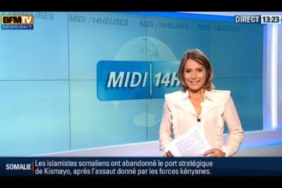 [2012 09 29] STEPHANIE DE MURU - BFM TV - MIDI 14H @13H00
